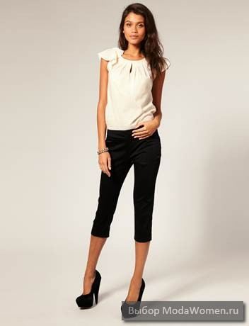 Fashion Capri pants in 2012 | on The basis of